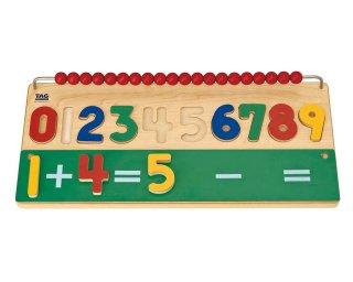 [3歳-]数える学習準備の教具 TAG