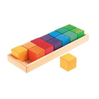 [1歳-]GM 色と形つみき(5種)〈積み木〉Grimm's