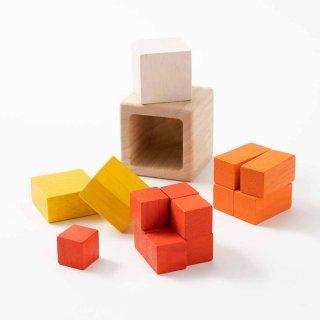 [3歳-]キューブインキューブ〈はめこみ立体パズル〉PLANTOYS