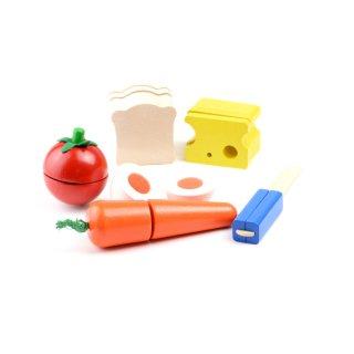 [3歳-]カッティング・モーニングセット〈ままごとキッチン〉SELECTA