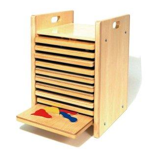 [2歳-]どうぶつパズル・収納箱〈はめこみパズル〉TAG