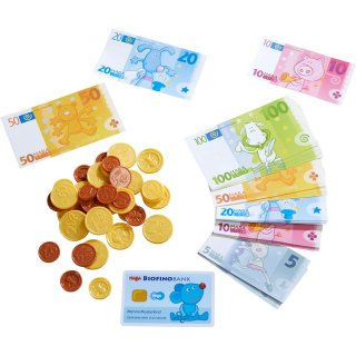 [3歳-]おこさま通貨・ユーロ〈ごっこ遊び〉HABA