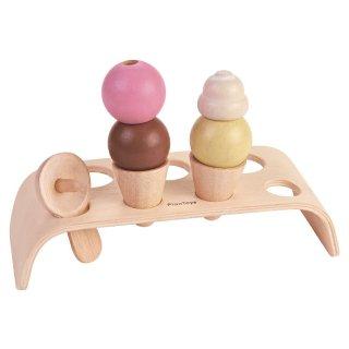 [2歳-]プラントイ アイスクリームセット〈ままごとキッチン〉PLANTOYS
