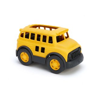 [1歳-]スクールバス〈車のおもちゃ〉Green Toys