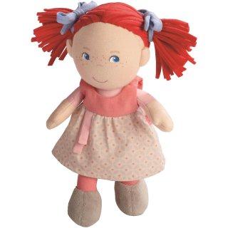 [0歳6ヶ月-]缶入りドール・赤毛のミリ〈ぬいぐるみ〉HABA