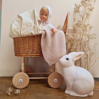 [1歳-]柳の乳母車 ピンクギンガム・レッドハート〈ごっこ遊び〉Egmont Toys