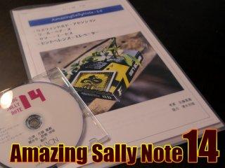 Amazing Sally Note(アメージング・サリーノート) Vol.14 by佐藤喜義(協力:清水邦隆)