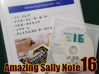 Amazing Sally Note(アメージング・サリーノート) Vol.16 by佐藤喜義(協力:清水邦隆)
