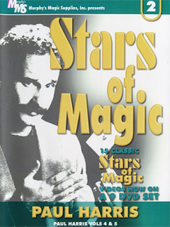 【MMSダウンロード】Stars Of Magic(Paul Harris) Vol.1〜5