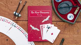 【洋書】The Four Treasures by Harapan Ong(トリックカード付・サイン入り)