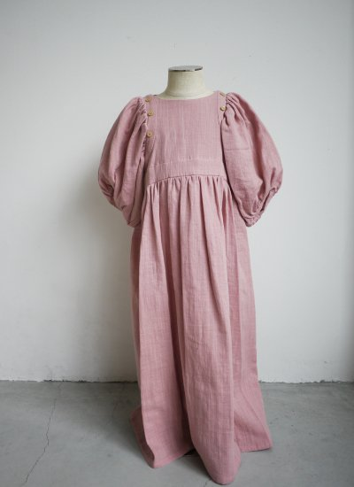 pajama dress / smoky pink