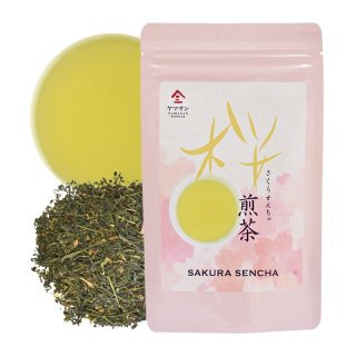 【桜香る爽やかなお茶】桜煎茶(80g)<br>茶 カテキン カテキン緑茶 日本茶 お茶の葉 母の日 父の日 プレゼント ギフト