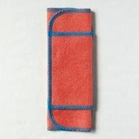 ふつうの日用(M)茜染め 糸:ターコイズ