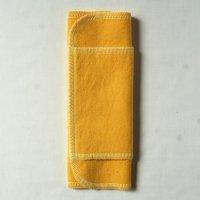 ふつうの日用(M)くちなし染め 糸:薄レモン色