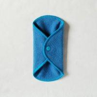 ボタン付ライナー(BL)藍染め 糸:ターコイズ