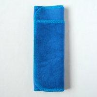 多い日用(L)藍染め 糸:ターコイズブルー