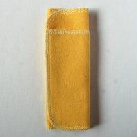 多い日用(L)くちなし染め 糸:薄レモン色