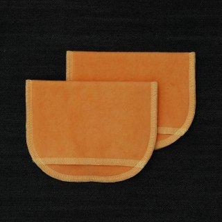 母乳パッド(BP)えんじゅ+茜染め 糸:薄レモン色