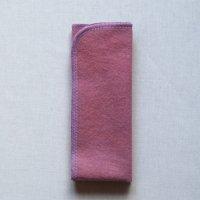 夜用(N)蘇芳(すおう)+藍染め 糸:藤色