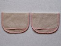 母乳パッド(BP)くるみ染め 糸:ベビーピンク