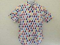 衣櫻 半袖シャツ「くま」