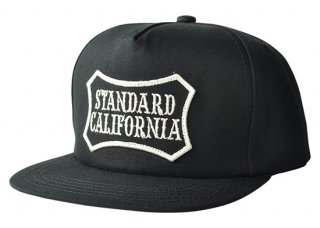 SD Logo Wappen Canvas Cap【STANDARD CALIFORNIA(スタンダードカリフォルニア)】 通販