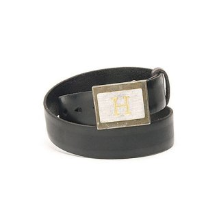 <img class='new_mark_img1' src='https://img.shop-pro.jp/img/new/icons16.gif' style='border:none;display:inline;margin:0px;padding:0px;width:auto;' />H Metal Buckle Belt 【HOLLYWOOD RANCH MARKET(ハリウッドランチマーケット)】 通販