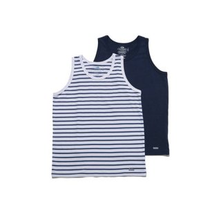<img class='new_mark_img1' src='https://img.shop-pro.jp/img/new/icons16.gif' style='border:none;display:inline;margin:0px;padding:0px;width:auto;' />FRUIT OF THE ROOM×BLUE BLUE 2PACK TANK TOP【BLUE BLUE(ブルーブルー)】 通販