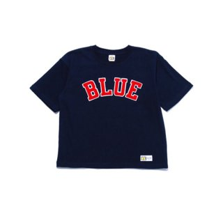 <img class='new_mark_img1' src='https://img.shop-pro.jp/img/new/icons16.gif' style='border:none;display:inline;margin:0px;padding:0px;width:auto;' />RUSSELL×BLUEBLUE WOMENS        BLUE PATCH S/S T-SHIRTS【BLUE BLUE(ブルーブルー)】 通販