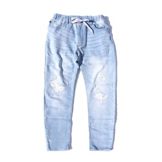 <img class='new_mark_img1' src='https://img.shop-pro.jp/img/new/icons16.gif' style='border:none;display:inline;margin:0px;padding:0px;width:auto;' />OBLEKT Damege Lt BLUE Jeans【BLUE BLUE(ブルーブルー)】 通販