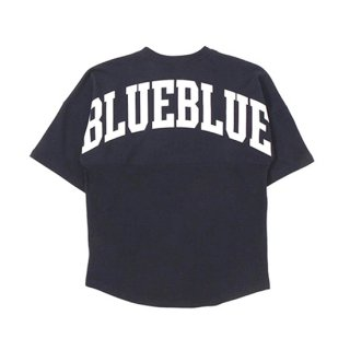 <img class='new_mark_img1' src='https://img.shop-pro.jp/img/new/icons16.gif' style='border:none;display:inline;margin:0px;padding:0px;width:auto;' />RUSSELL×BLUEBLUE BIG LOGO S/S FOOTBALL T-SHIRTS 【BLUE BLUE(ブルーブルー)】 通販