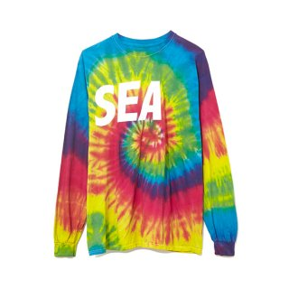 Long Sleeve Cut-Sewn TIEDYE 【WIND AND SEA(ウィンダンシー)】 通販