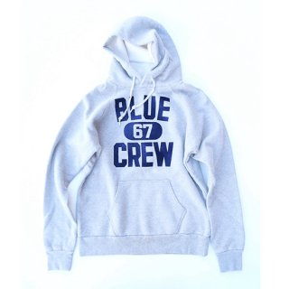 <img class='new_mark_img1' src='https://img.shop-pro.jp/img/new/icons16.gif' style='border:none;display:inline;margin:0px;padding:0px;width:auto;' />BLUE CREW SWEAT PULL PARKA【BLUE BLUE(ブルーブルー)】 通販