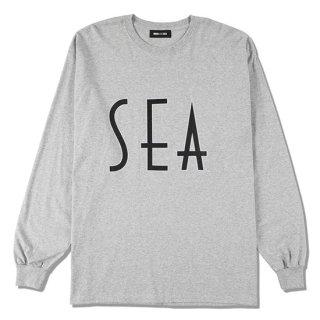 SEA(wavy)L/S T-SHIRT【WIND AND SEA(ウィンダンシー)】 通販