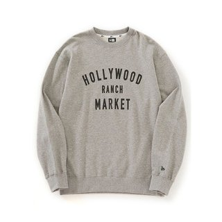 NEW ERA×HRM HR Market Sweat Crew Neck【HOLLYWOOD RANCH MARKET(ハリウッドランチマーケット)】 通販