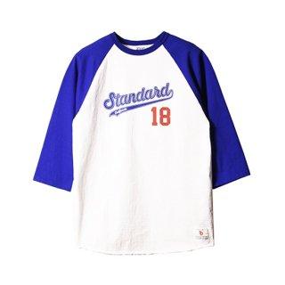 <img class='new_mark_img1' src='https://img.shop-pro.jp/img/new/icons5.gif' style='border:none;display:inline;margin:0px;padding:0px;width:auto;' />SD 18th Anniversary 3/4 Sleeve Baseball T【STANDARD CALIFORNIA(スタンダードカリフォルニア)】 通販
