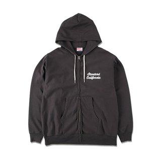 <img class='new_mark_img1' src='https://img.shop-pro.jp/img/new/icons5.gif' style='border:none;display:inline;margin:0px;padding:0px;width:auto;' />SD US Cotton Zip Hood Script Logo Sweat Shirt【STANDARD CALIFORNIA(スタンダードカリフォルニア)】 通販