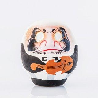 オーケストラだるま(バイオリン)2号12cm