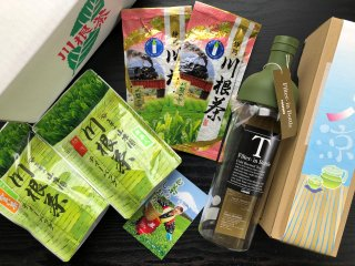 読み物 夏の川根茶お得セットは9月末まで