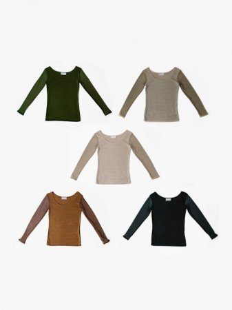 <img class='new_mark_img1' src='https://img.shop-pro.jp/img/new/icons47.gif' style='border:none;display:inline;margin:0px;padding:0px;width:auto;' />MARTE Mesh Sleeve Tops