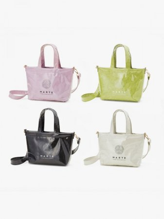 MARTE Tyvek® × PVC Shoulder Bag