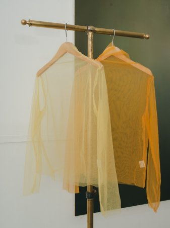 See-through Tulle Tops