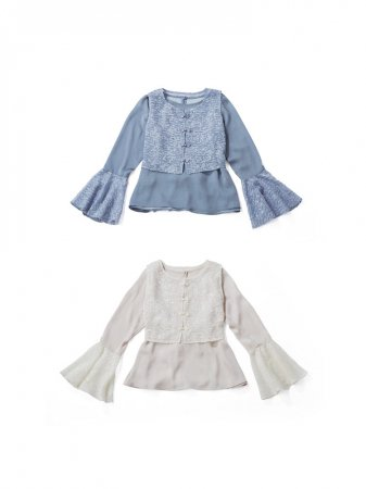 <img class='new_mark_img1' src='https://img.shop-pro.jp/img/new/icons38.gif' style='border:none;display:inline;margin:0px;padding:0px;width:auto;' />MARTE Chinois Layered Sheer Tops