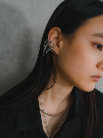 <img class='new_mark_img1' src='https://img.shop-pro.jp/img/new/icons5.gif' style='border:none;display:inline;margin:0px;padding:0px;width:auto;' />wave[glass2](pierced earrings)