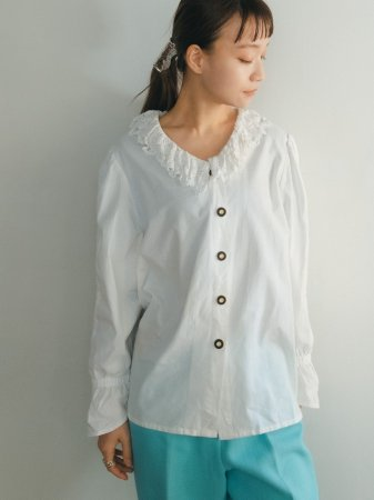Lace Collar Tyrol Blouse