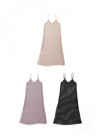 <img class='new_mark_img1' src='https://img.shop-pro.jp/img/new/icons47.gif' style='border:none;display:inline;margin:0px;padding:0px;width:auto;' />MARTE Beehive Mesh Dress