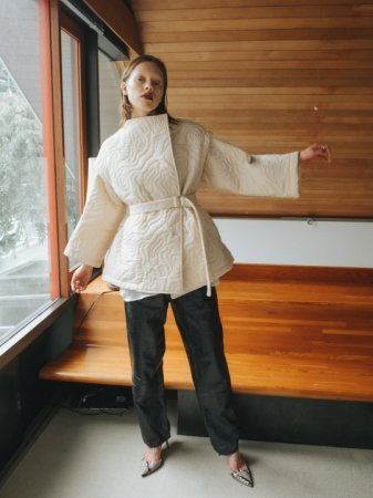 <img class='new_mark_img1' src='https://img.shop-pro.jp/img/new/icons38.gif' style='border:none;display:inline;margin:0px;padding:0px;width:auto;' />MARTE Nature Line Quilting Jacket/Vest
