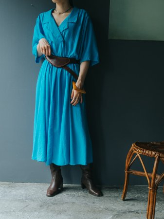 Turquoise Blue Shirts Dress