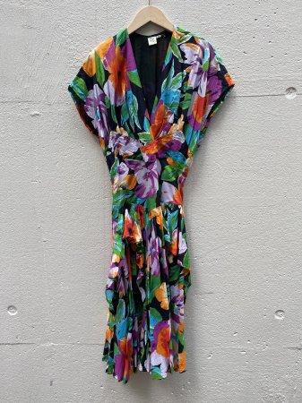 Cotton Flower Pattern Dress