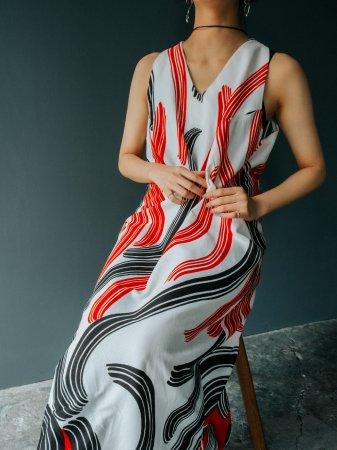 70s Curves Design Dress